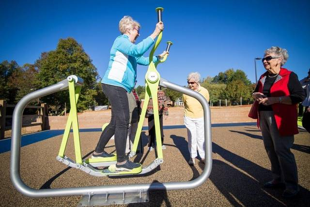Multi- Gen Playground is for Young at Heart