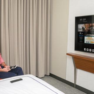 High-Tech Hotels Go Mainstream