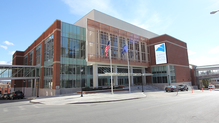 Albany Capital Center Opens