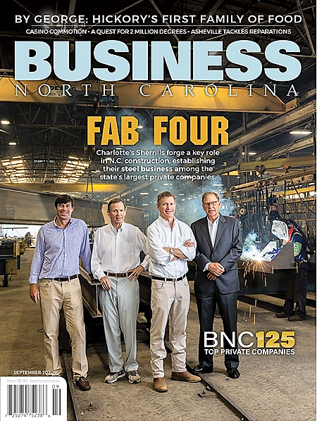 BUSINESS NORTH CAROLINA – Bonds of Steel