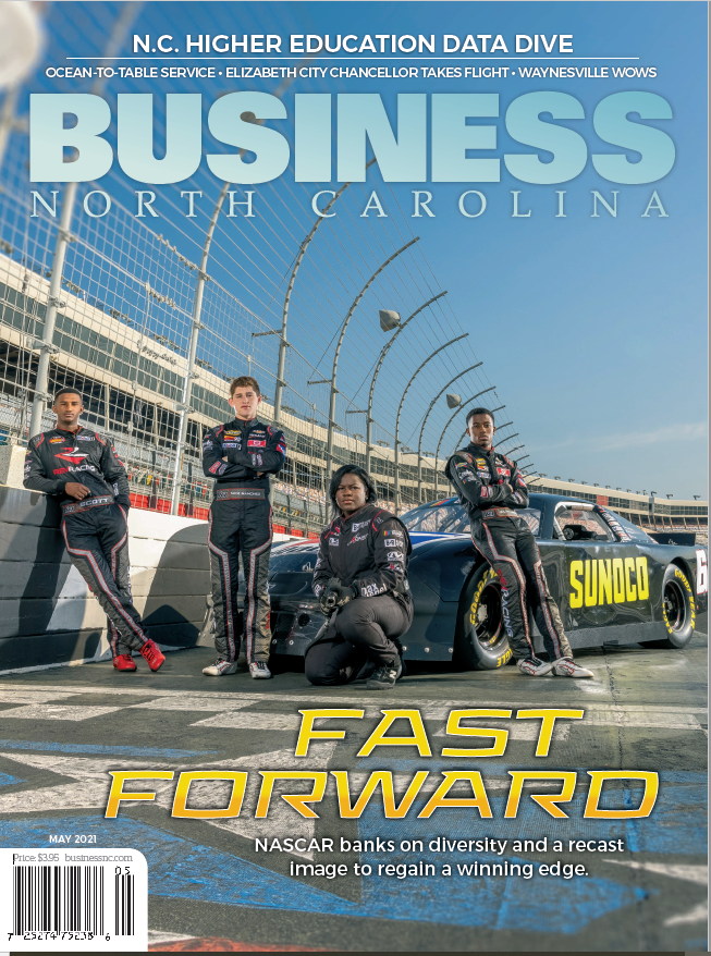 BUSINESS NORTH CAROLINA – How NASCAR is Harnessing Diversity as a Vehicle for Growth