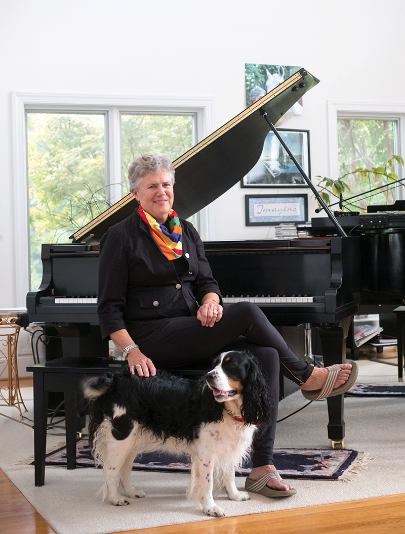 CHARLOTTE MAGAZINE – Jazz Pianist Finds Inspiration on Horseback