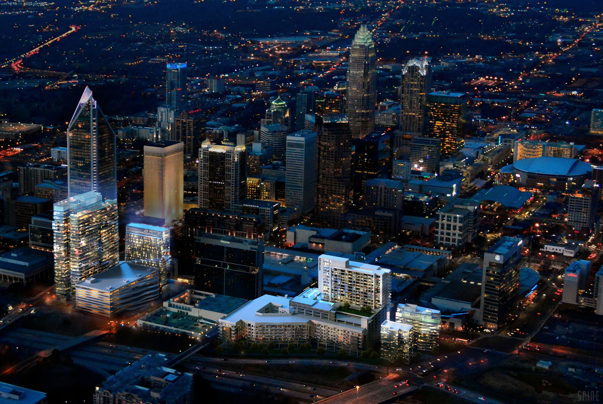 CHARLOTTE FIVE – Why is Downtown Charlotte Called Uptown?