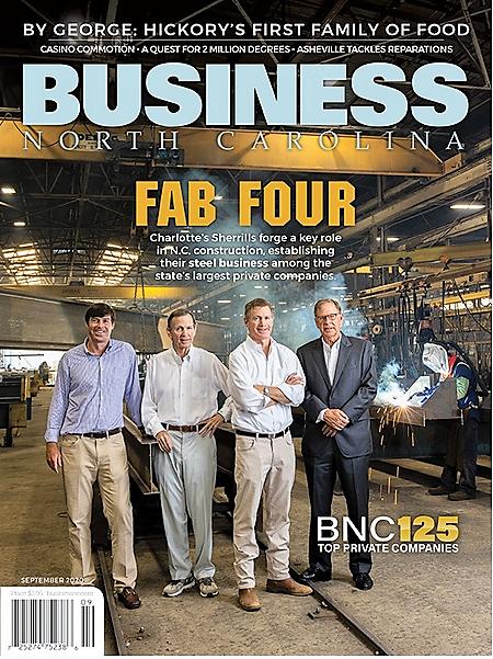BUSINESS NORTH CAROLINA – Bonds of Steel