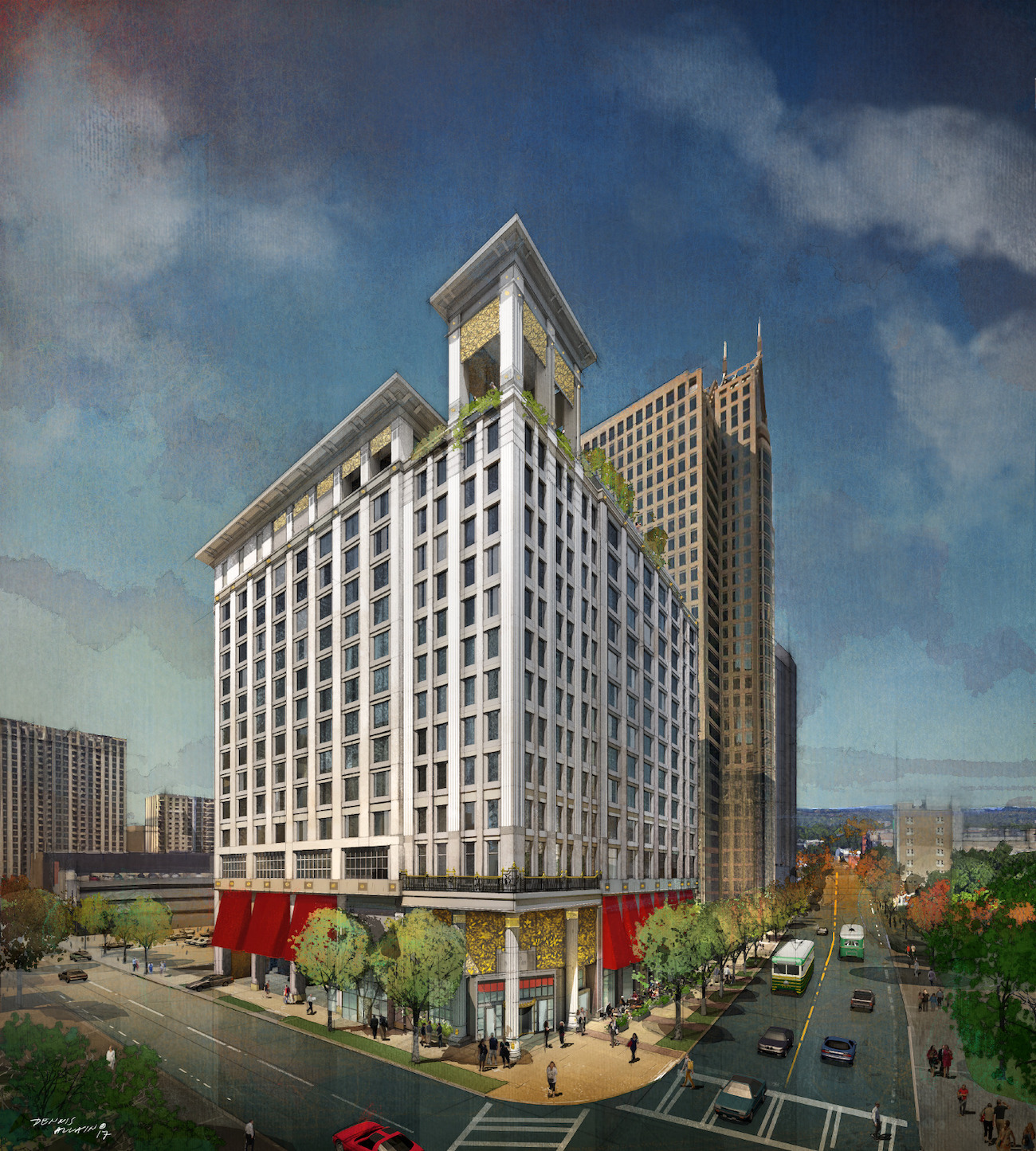 CHARLOTTE FIVE – Grand Bohemian Charlotte Tops Out Adding to Luxe Hotel Market